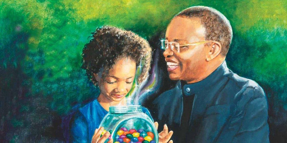 Feeling Hope - Molly's Memory Jar - Children's Book Illustration By Jacqui Grantford