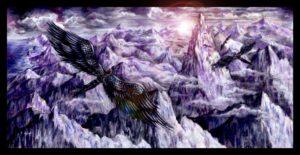 Magic Flight - Children's Book Illustration by Jacqui Grantford