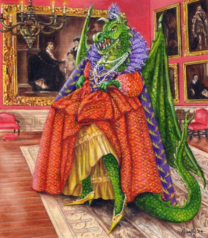 Dromkeen Dragon - Children's Book Illustration By Jacqui Grantford