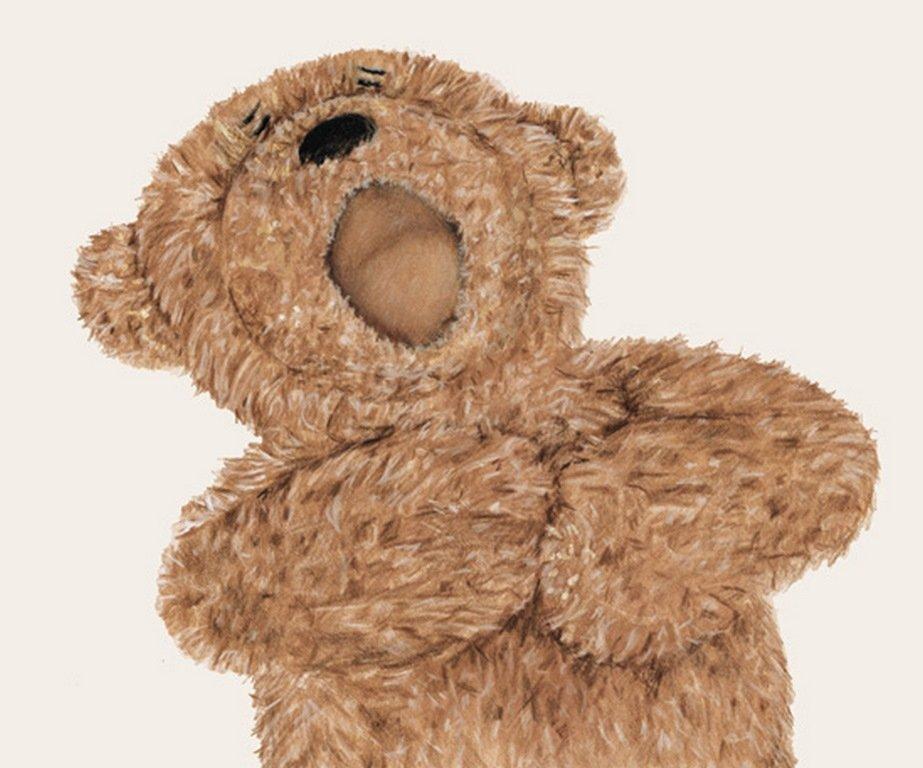Pemberthy Bear - Children's Book Illustration By Jacqui Grantford