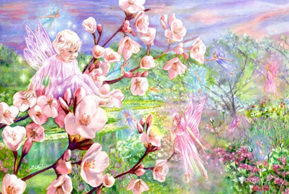 Spring Fairies - Children's Book Illustration By Jacqui Grantford