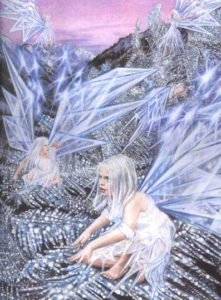 Snow Fairy - Various Faerious - Children's Book Illustration by Jacqui Grantford