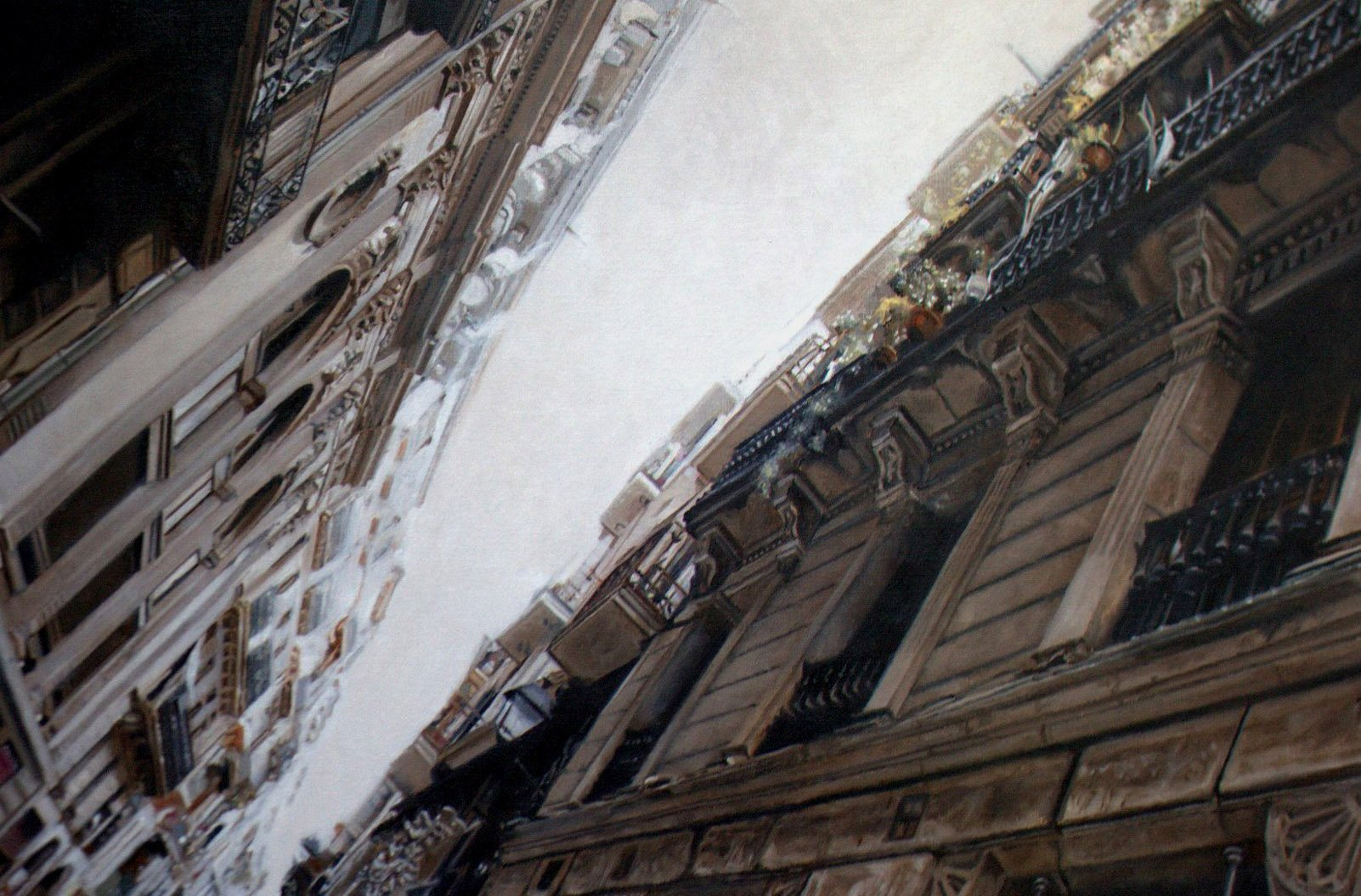 Fine Art - Bari Gotic, Spain, Oil On Linen, 80cm X 54cm