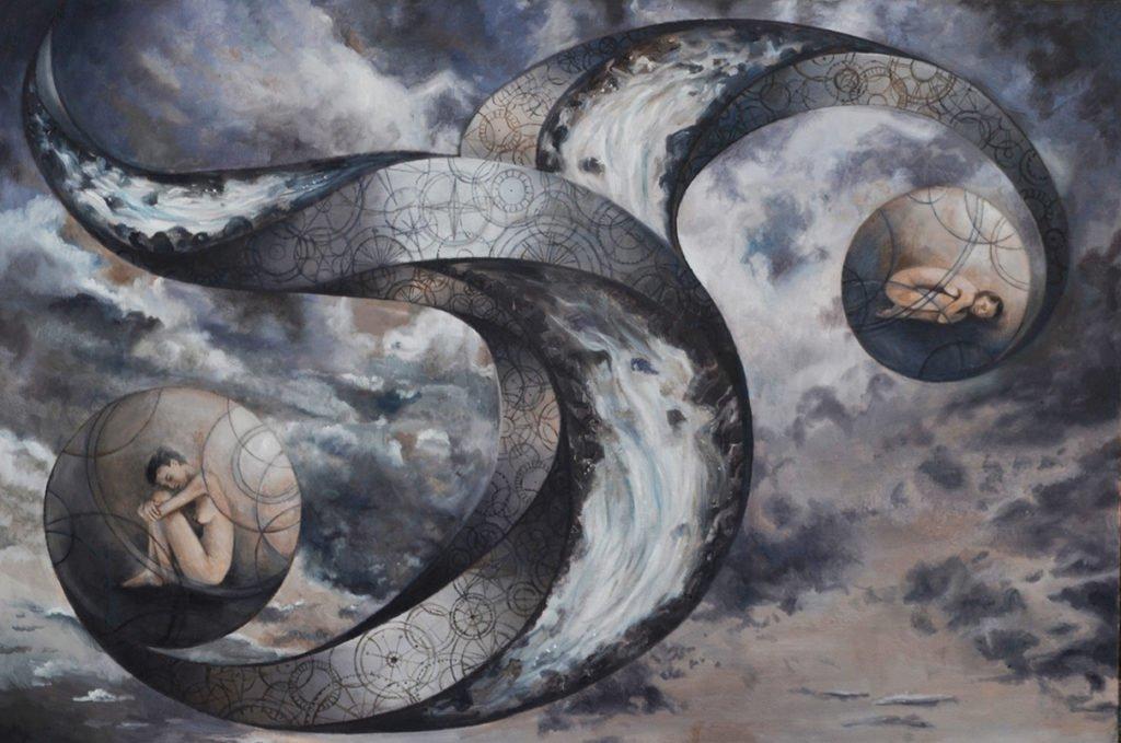 Fine Art - Founding, 90cm x 60cm, Oil on Canvas