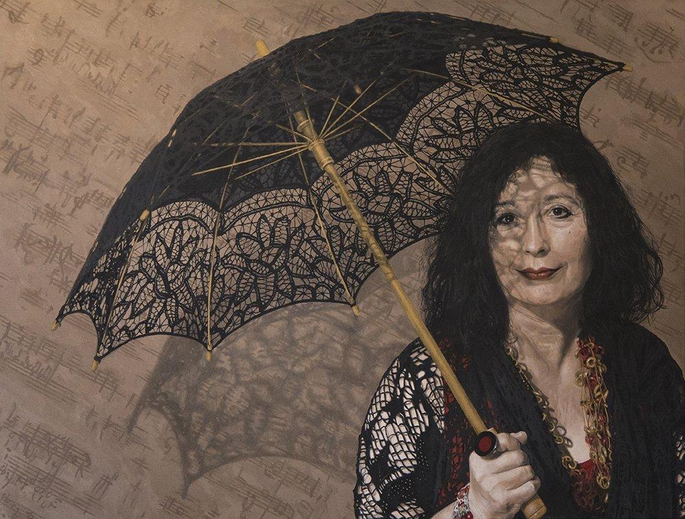 Portrait of Elena Kats-Chernin by Jaq Grantford