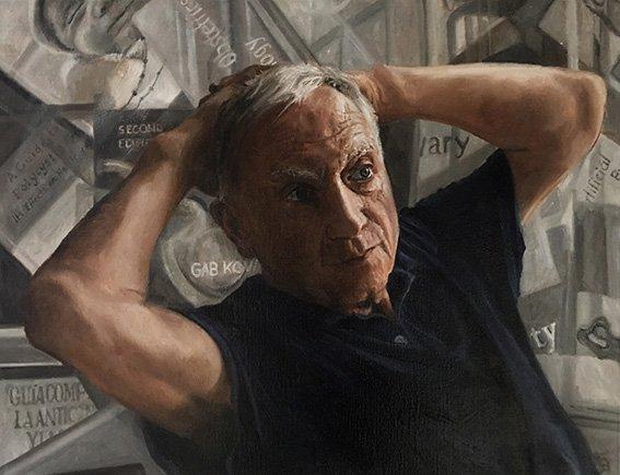 Portrait of Gab by Jaq Grantford