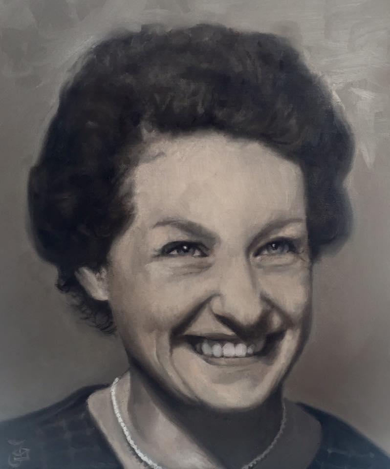Portrait of Jill by Jaq Grantford