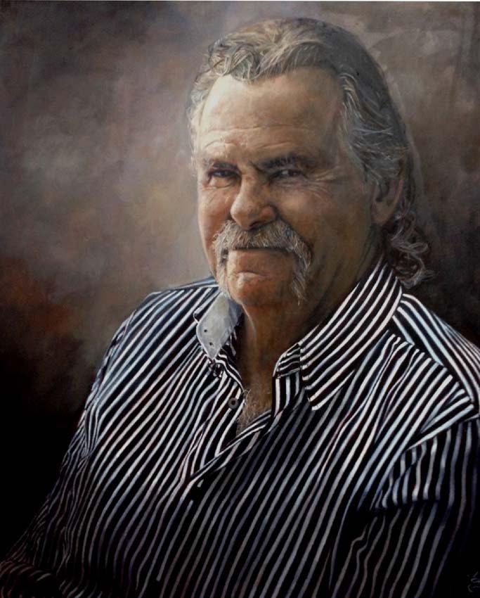 Portrait of Alan by Jaq Grantford
