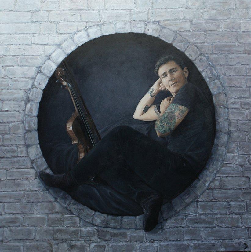 Portrait of Eddie Ayres by Jaq Grantford