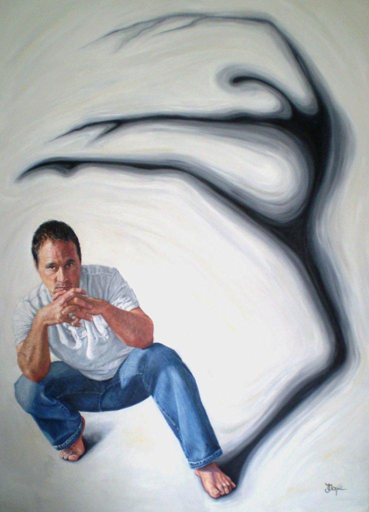 Portrait of Paul Mercurio by Jaq Grantford