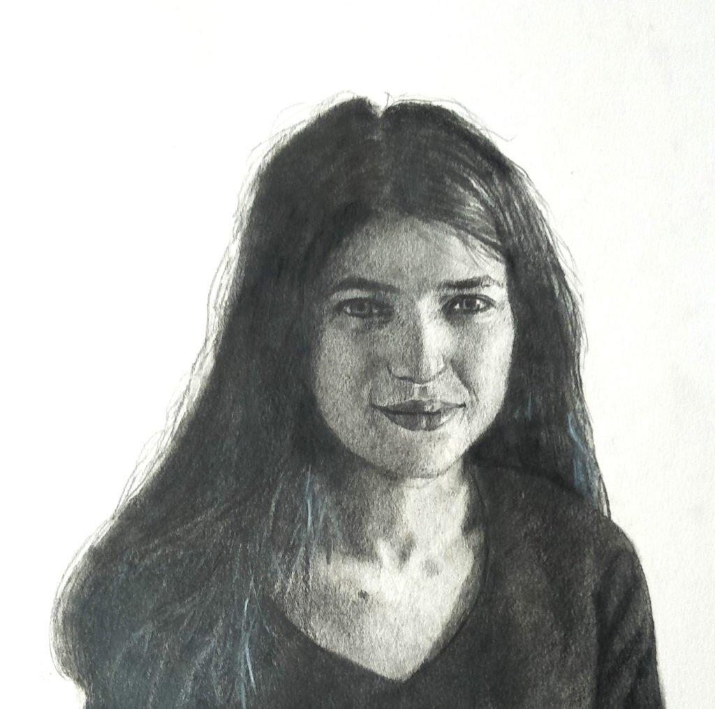 Portrait of Stephanie by Jaq Grantford