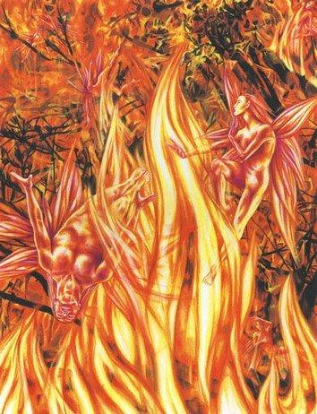 The Fire Fairy