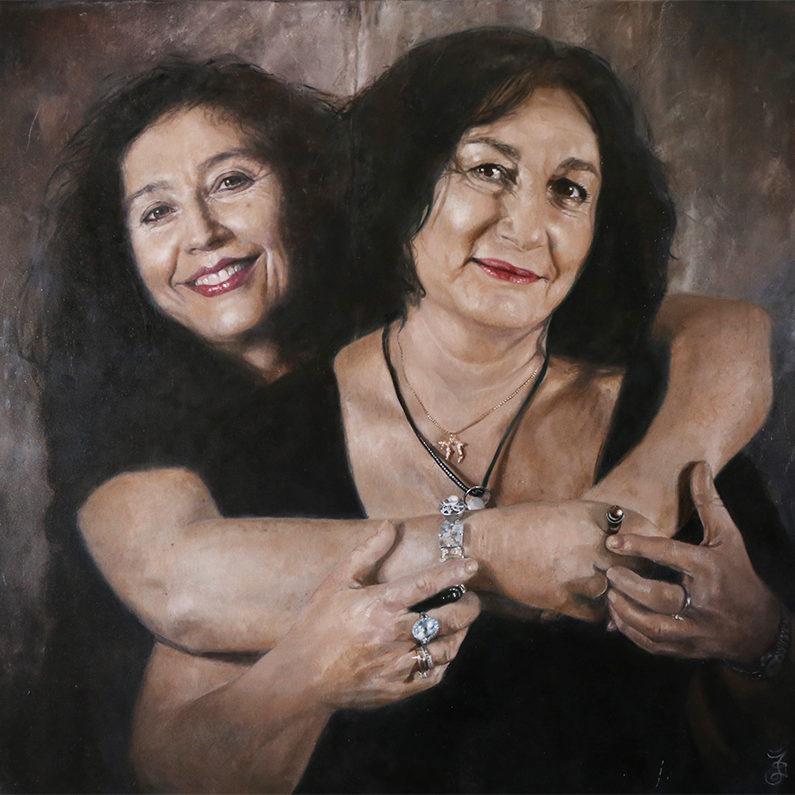 Elena Kats-Chernin and Laura - Sisters